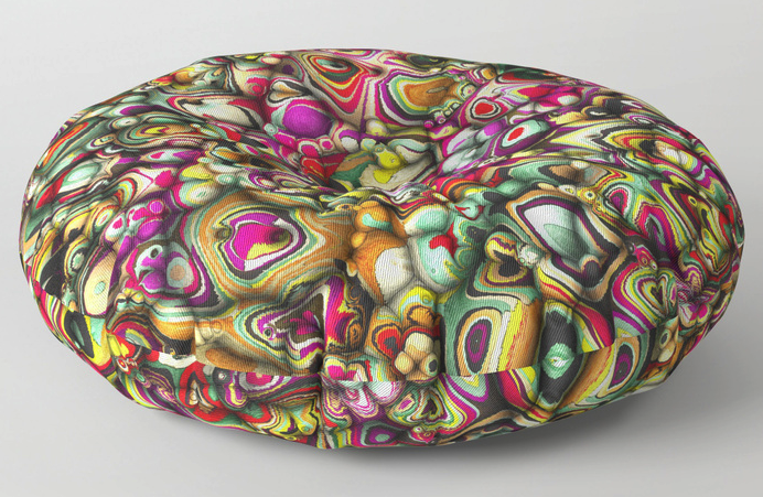 Colorful 3D Floor Pillow