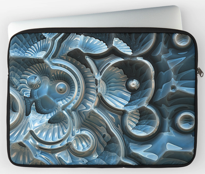 Reflections of A Fractal Fossil