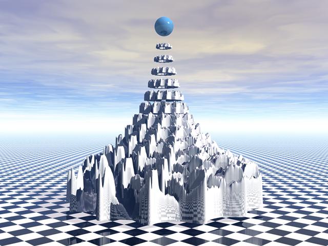 Surreal Fractal Tower