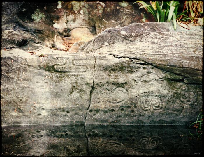 Petroglyphs on St. John, USVI