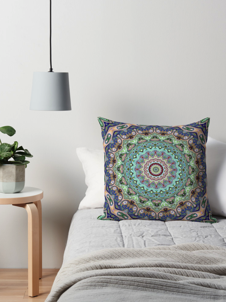 Decorative Ornate Throw Pillow