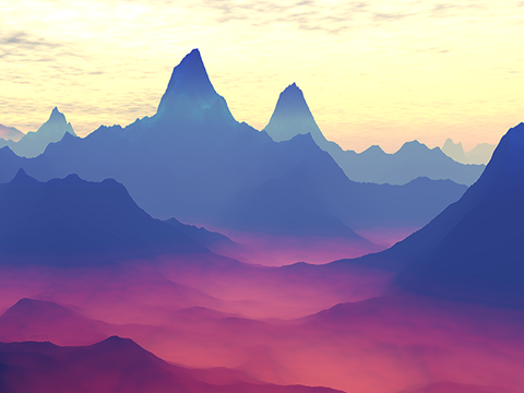 Mountains of Another World