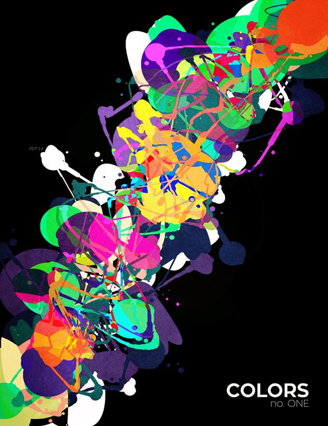 Mixed Media Colors 1