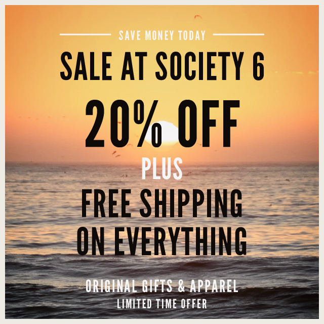Gifts And Apparel On Sale at #Society6