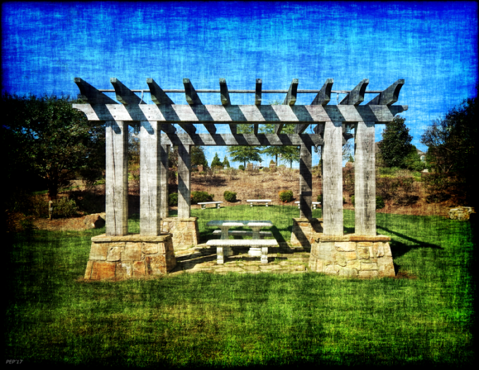 Summer Pergola Rest Spot