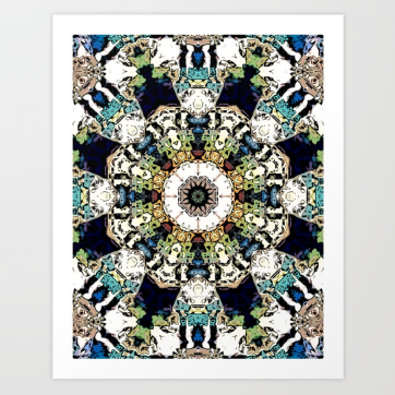 Earth Tones Kaleidoscope