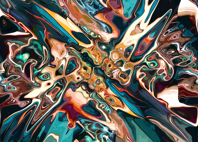 Blended Abstract Shapes