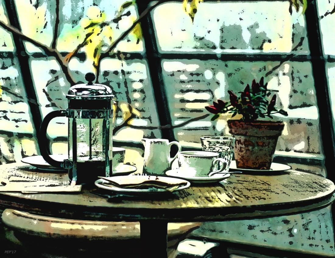 Breakfast Coffee Table