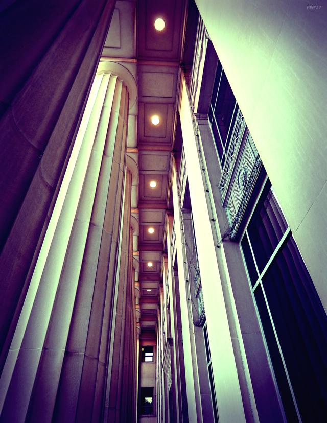 Vintage Architectural Pillars