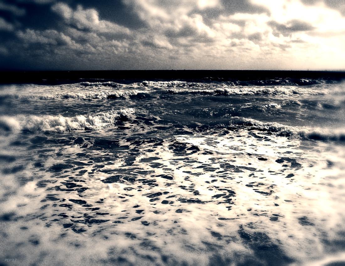 Vintage Atlantic Ocean