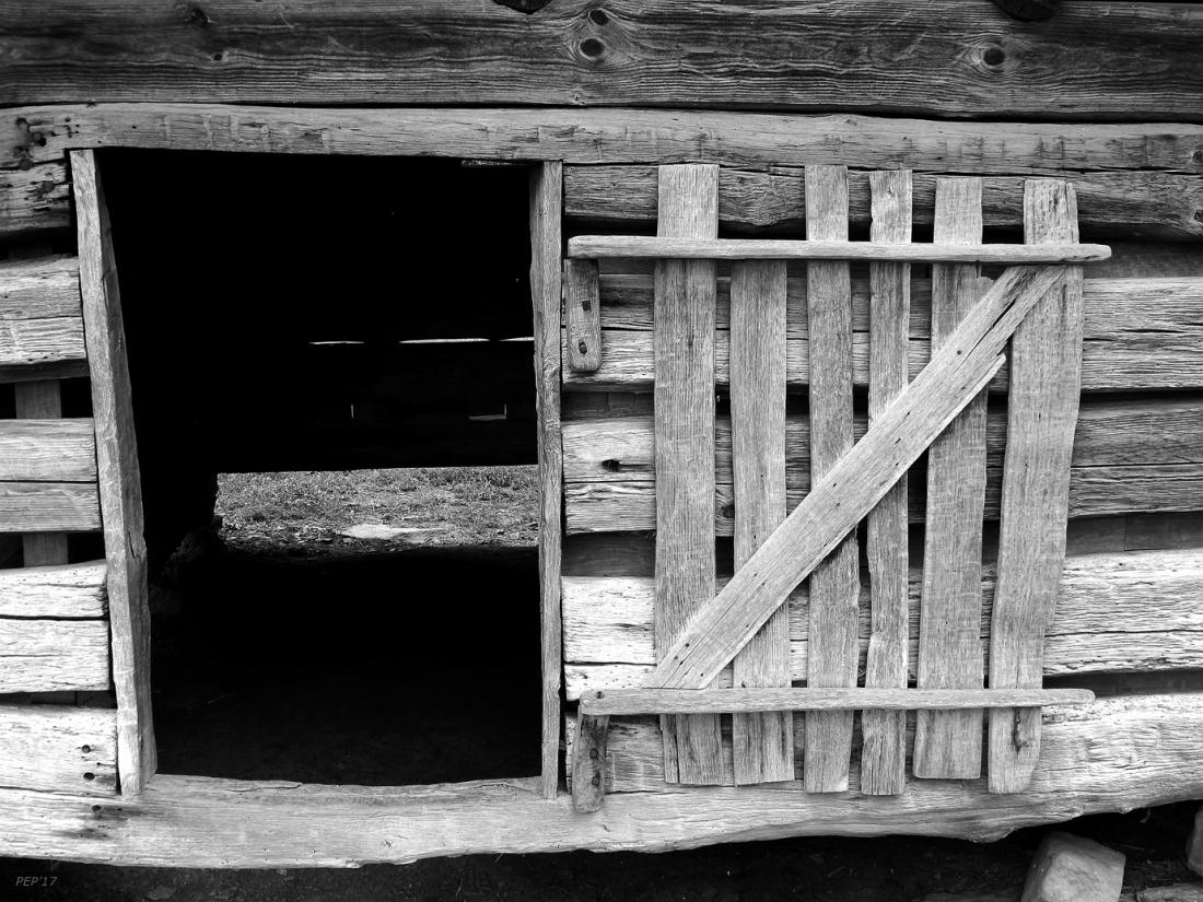 Vintage Wooden Cabin