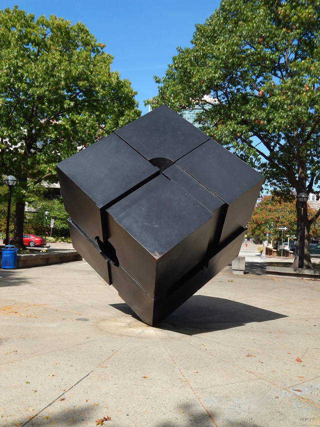 Three Dimensional Metal Cube