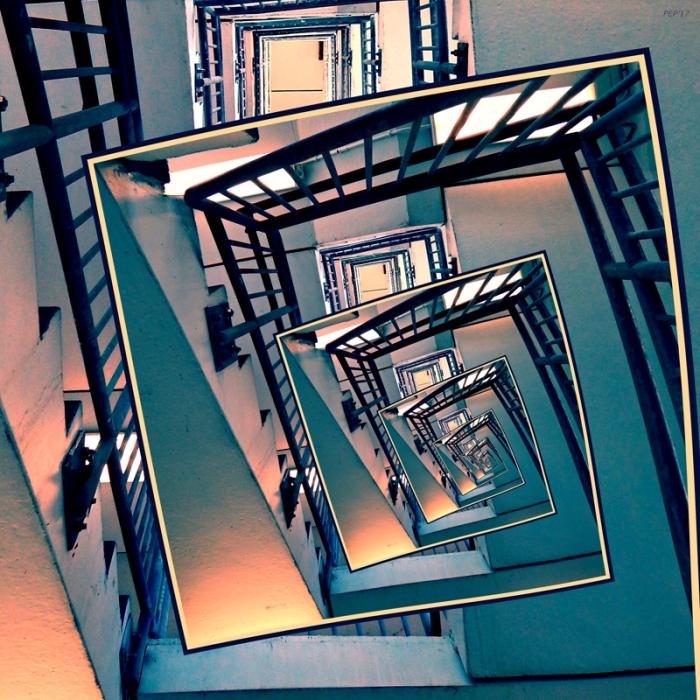 Infinite Spinning Stairs