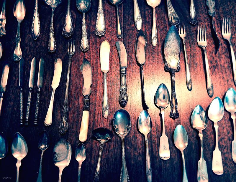 Vintage Kitchen Silverware