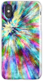 Colorful Tie Dye Watercolor