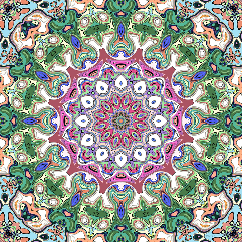 Ornate Colorful Pattern