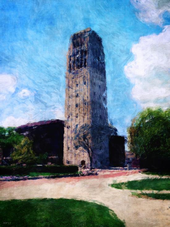 University of Michigan Clock Tower