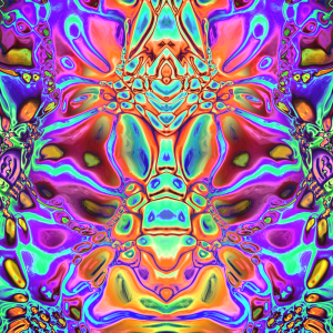 Iridescent Spectral Abstract