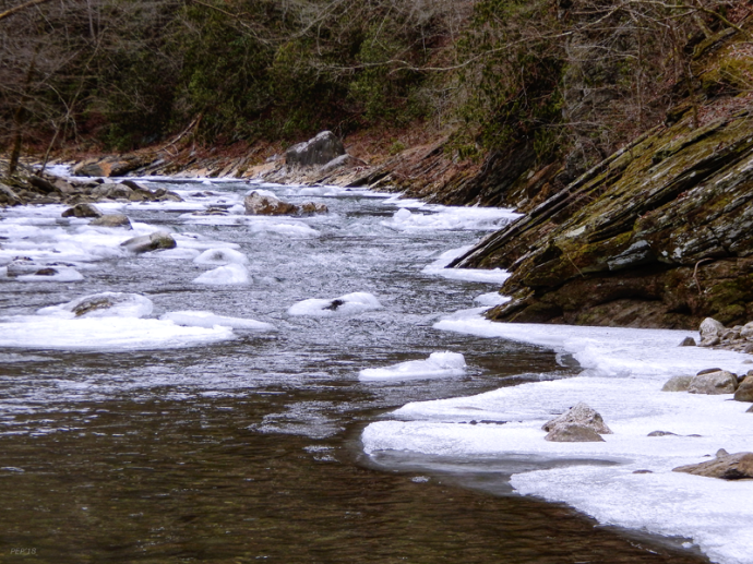 Ice In The Little River