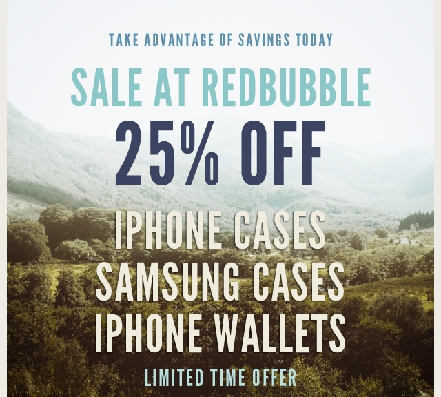 Sale at Redbubble
