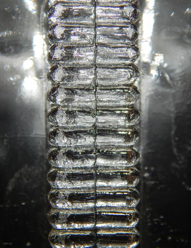 Textured Glass Macro