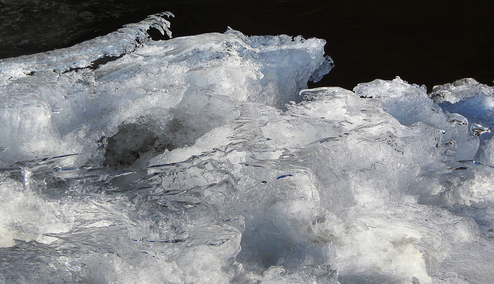 Ice Crystals Formation