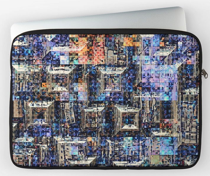 Abstract Geometric Laptop Computer Sleeve