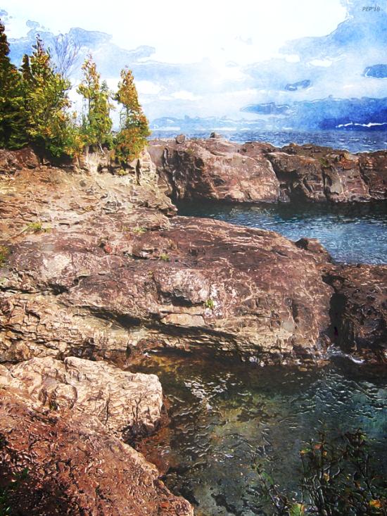 Lake Superior Peninsulas