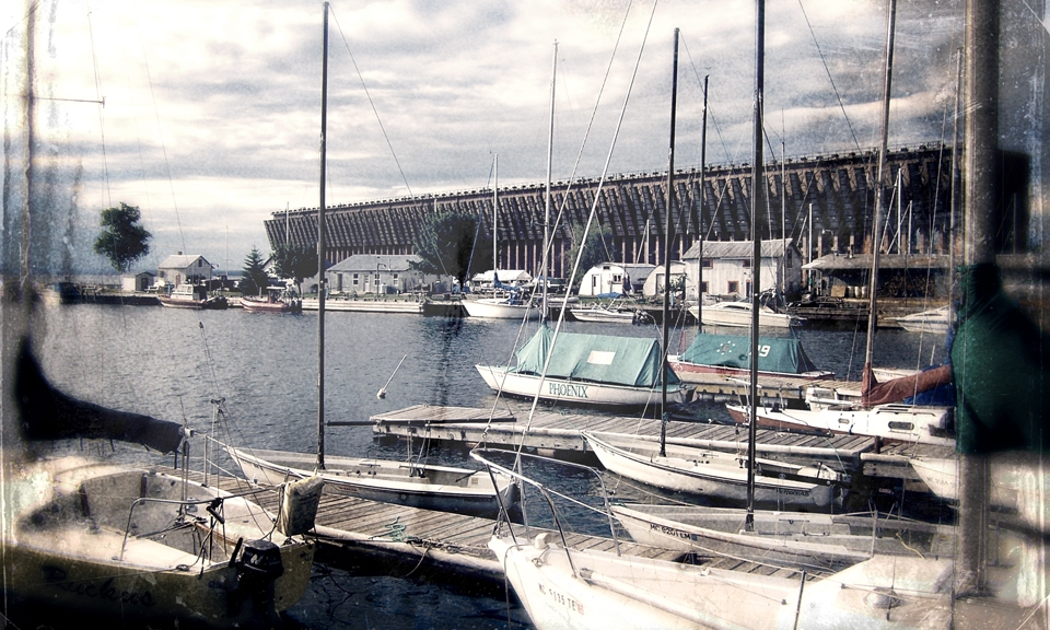 Sailboats In Dock