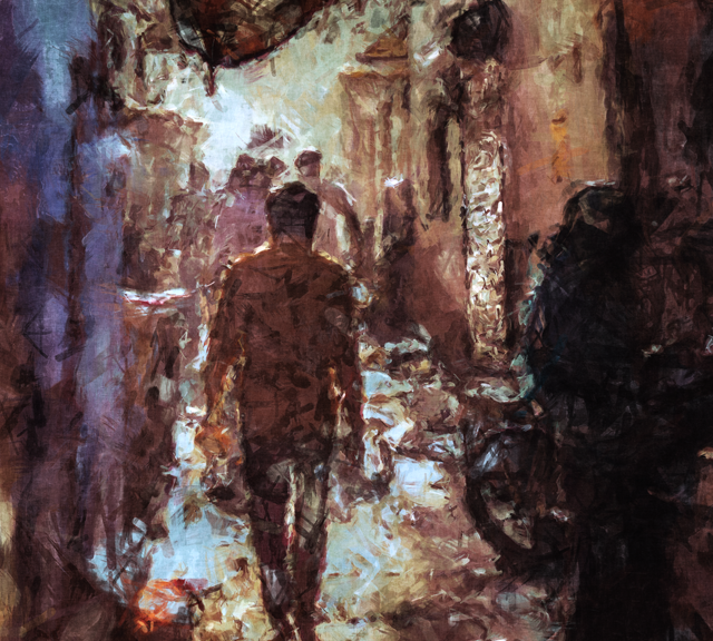 People In Alley