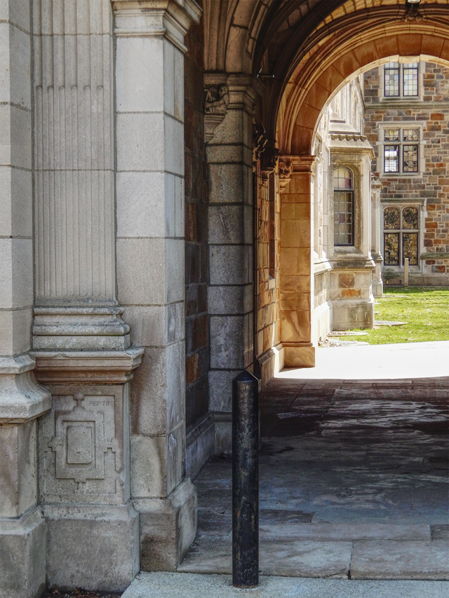 Archway To Courtyard
