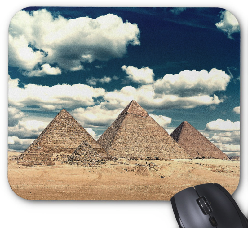 Egyptian Pyramids Mouse Pad