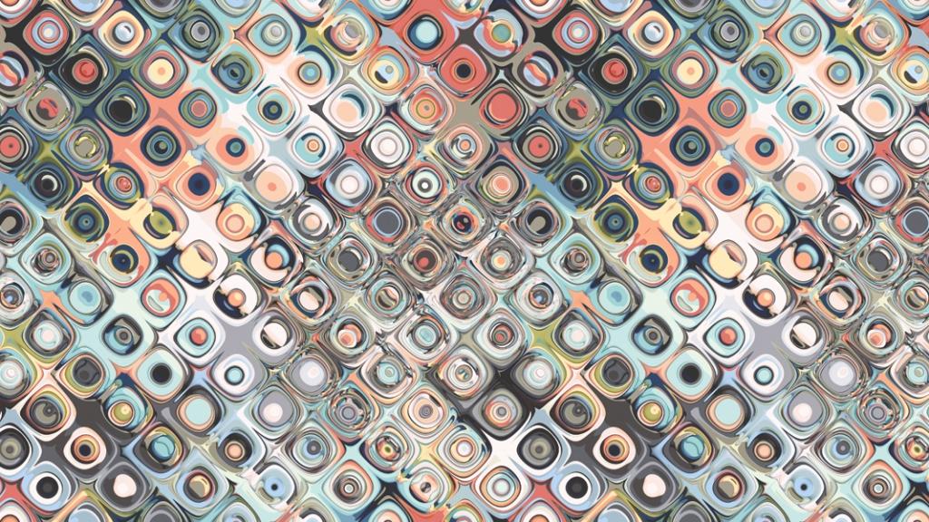 Geometric Pastels Pattern
