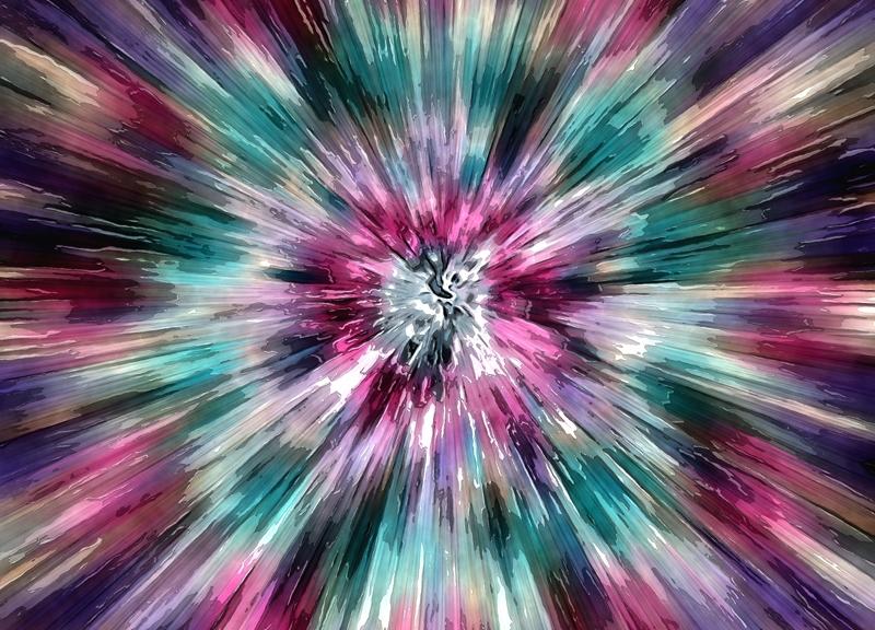 Colorful Watercolor Tie Dye