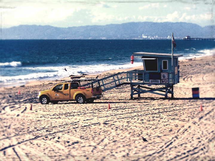 California Lifeguard Station