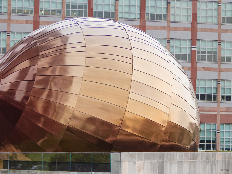 Geometric Gold Sphere
