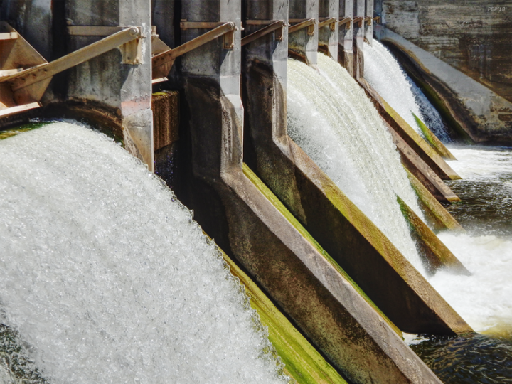 Barton Dam In Ann Arbor