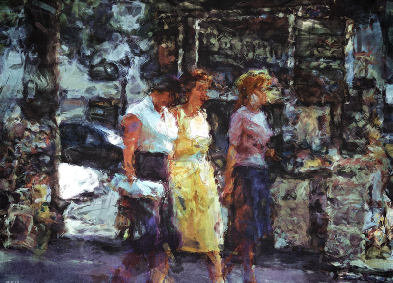Three Women In Town