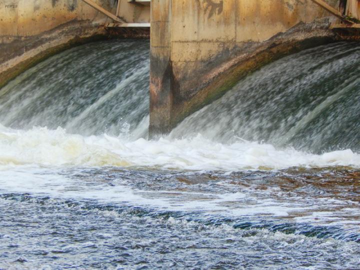 Argo Dam On Huron River