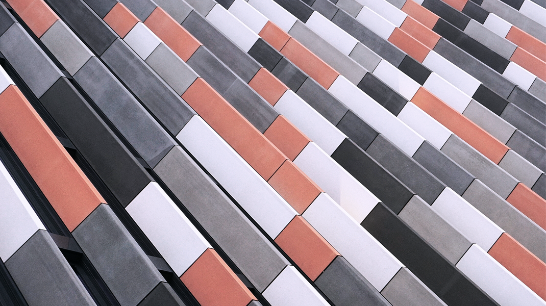 Sequence of Concrete Tiles