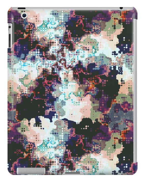 Abstract Shapes Pattern iPad Case