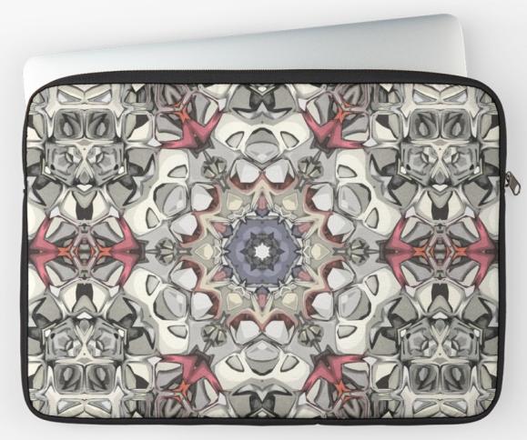 Textural Hexagon Graphic