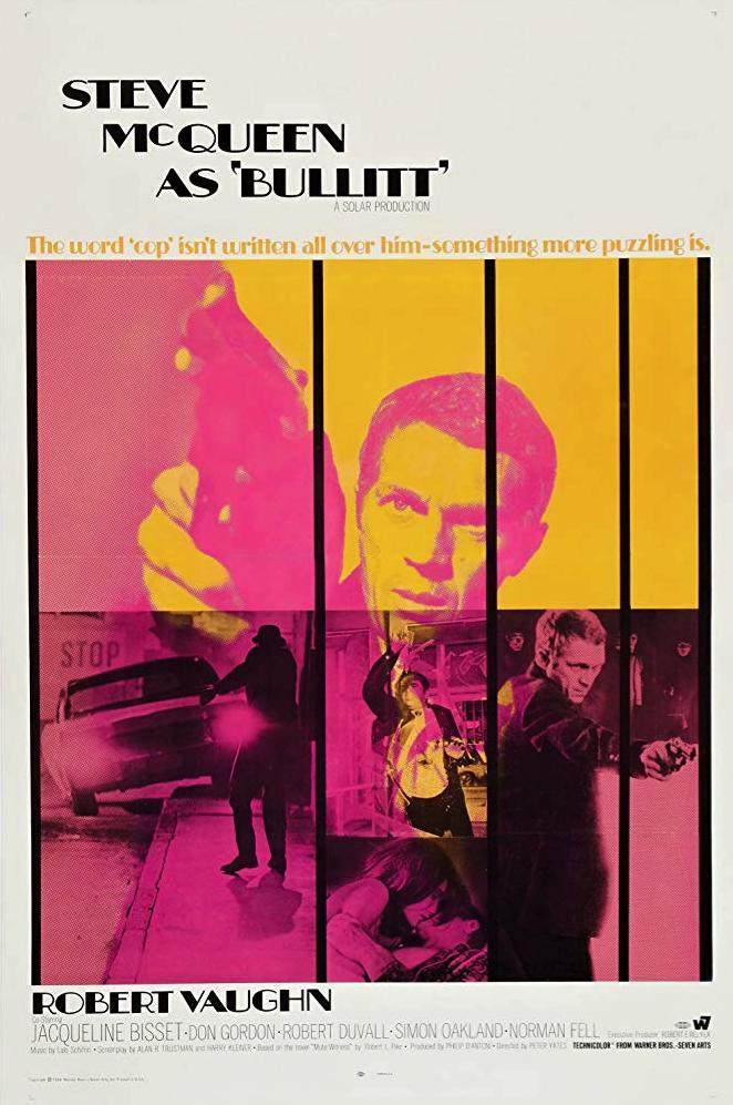 """50th Anniversary of Steve McQueen's """"Bullitt"""""""