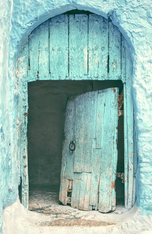 Vintage Mediterranean Doorway
