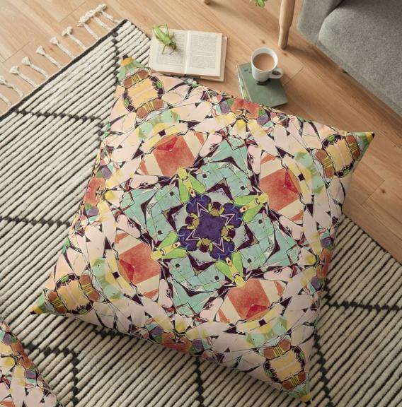 Comfortable Floor Pillow