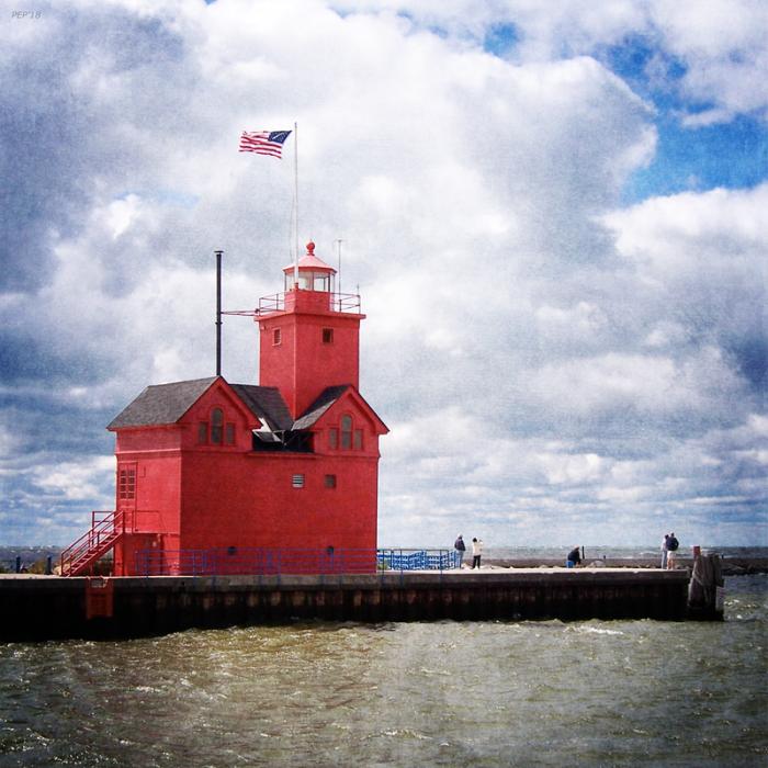 Lake Michigan Light House