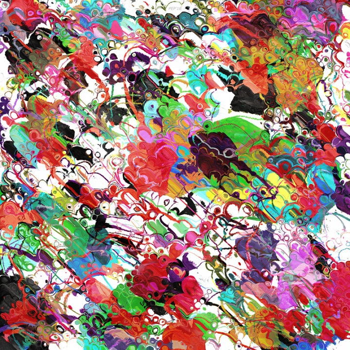 Chaotic Colors of Paint