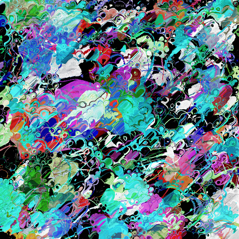 Chaotic Colors of Paint 2