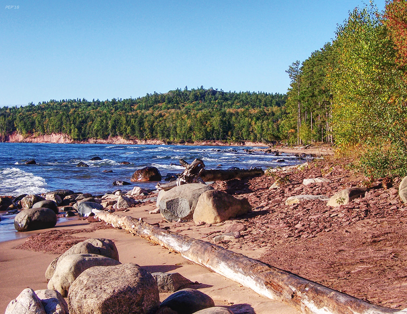 Shores of Lake Superior