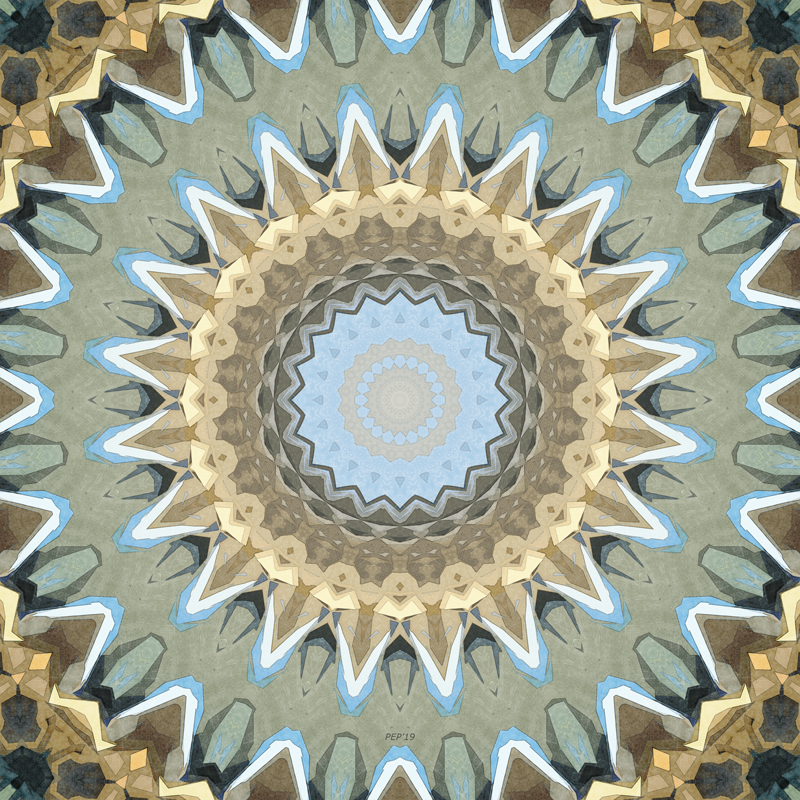 Earth Tones Mandala
